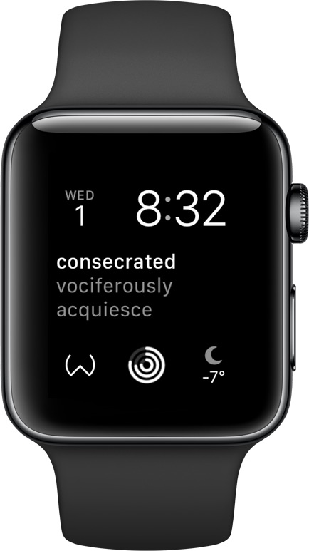 Wordio for Apple Watch